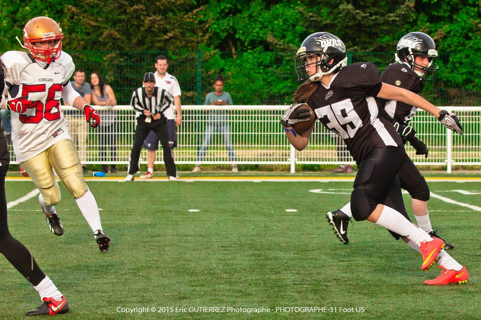 Crossfit and Women's American Football - Speed