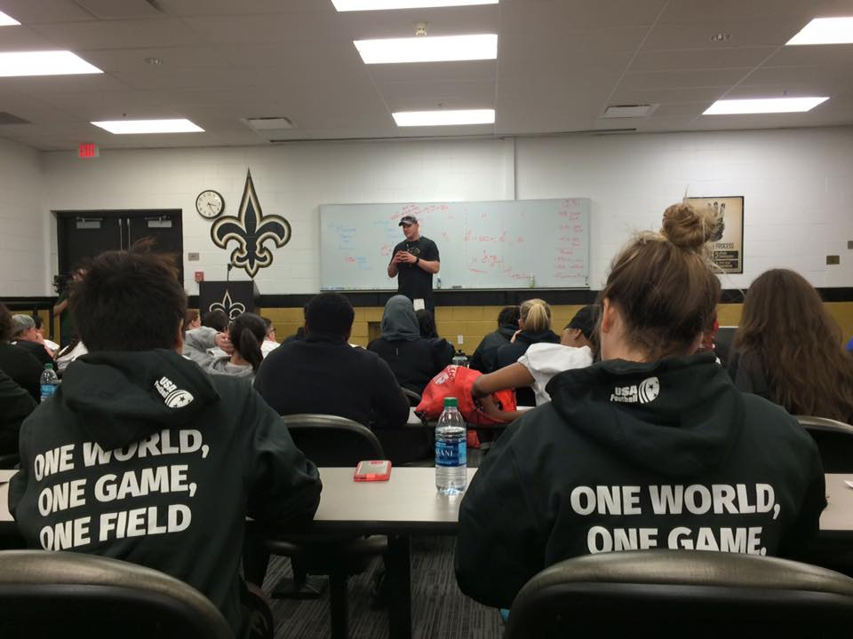 Meeting Offense chez les Saints... normal !