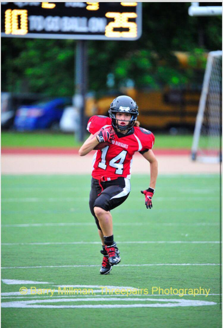 Sarah Viola, #14 RB chez les Boston Renegades